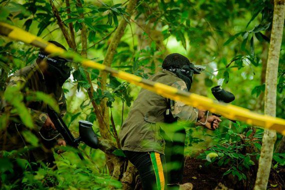 Top10 benefits of Paintball game